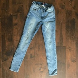 JustFab Distressed Skinny Jeans size 27